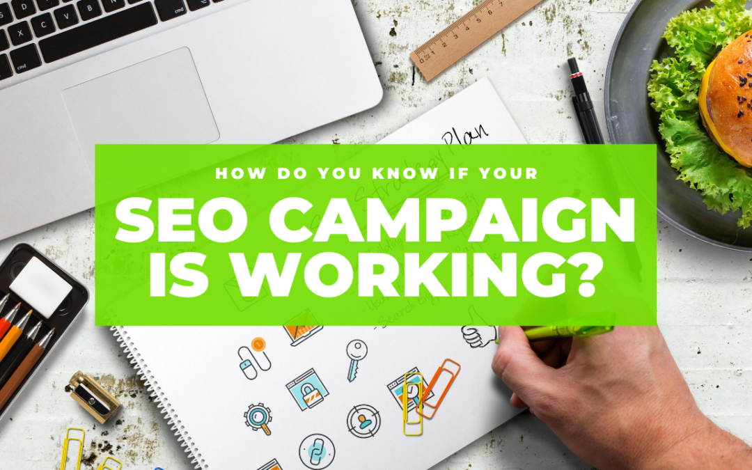 How To Know If Your SEO Campaign Is Working